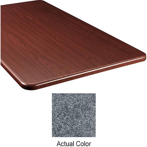 "Middle Atlantic Wood Top Panel for Slim 5-Series Equipment Rack (20"" Deep, Graystone)"