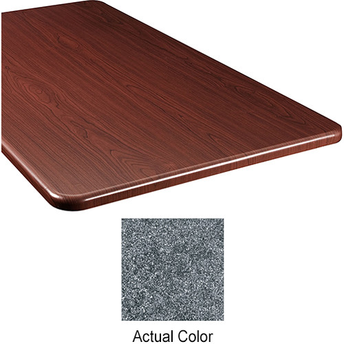 "Middle Atlantic Wood Top Panel for Slim 5-Series Equipment Rack (20"" Deep, Graystone)"
