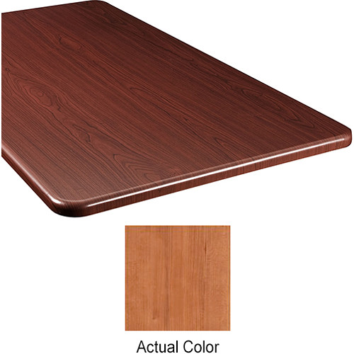 "Middle Atlantic Wood Top Panel for Slim 5-Series Equipment Rack (20"" Deep, Hazelnut Maple)"