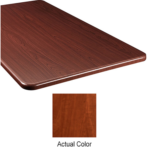 "Middle Atlantic Wood Top Panel for Slim 5-Series Equipment Rack (26"" Deep, Auburn Stream)"