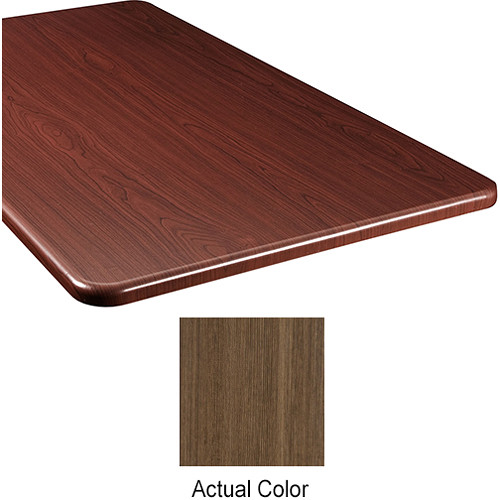 "Middle Atlantic Wood Top Panel for Slim 5-Series Equipment Rack (26"" Deep, Belambra)"