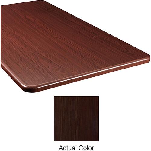 "Middle Atlantic Wood Top Panel for Slim 5-Series Equipment Rack (26"" Deep, Cafe Noir)"