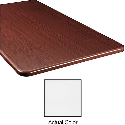 "Middle Atlantic Wood Top Panel for Slim 5-Series Equipment Rack (26"" Deep, Frost)"