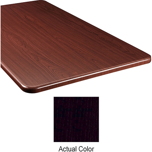 "Middle Atlantic Wood Top Panel for Slim 5-Series Equipment Rack (26"" Deep, Nighttide)"