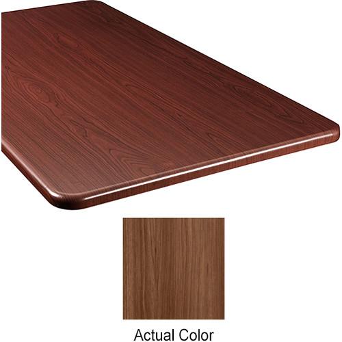 """Middle Atlantic Wood Top Panel for Slim 5-Series Equipment Rack (26"""" Deep, Sienna)"""