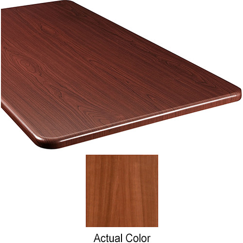 "Middle Atlantic Wood Top Panel for Slim 5-Series Equipment Rack (26"" Deep, Sequoia)"