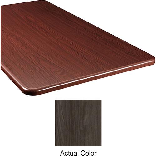 "Middle Atlantic Wood Top Panel for Slim 5-Series Equipment Rack (26"" Deep, Timberwolf)"