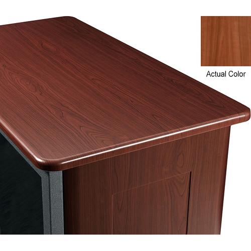 "Middle Atlantic Wood Top and 2 Side Panels Kit for Slim 5-Series Equipment Rack (14 RU, 26"" Deep, Sequoia)"