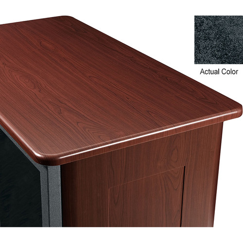 "Middle Atlantic Wood Top and 2 Side Panels Kit for Slim 5-Series Equipment Rack (14 RU, 20"" Deep, Darkstone)"