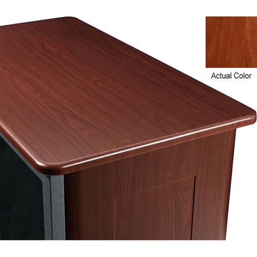 "Middle Atlantic Wood Top and 2 Side Panels Kit for Slim 5-Series Equipment Rack (21 RU, 26"" Deep, Auburn Stream)"