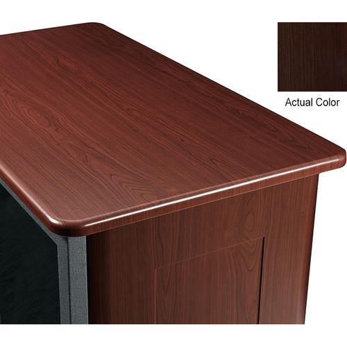 "Middle Atlantic Wood Top and 2 Side Panels Kit for Slim 5-Series Equipment Rack (21 RU, 26"" Deep, Cafe Noir)"
