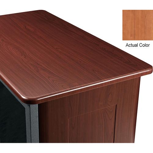"Middle Atlantic Wood Top and 2 Side Panels Kit for Slim 5-Series Equipment Rack (21 RU, 26"" Deep, Hazelnut Maple)"