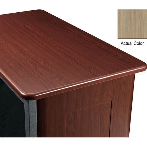 """Middle Atlantic Wood Top and 2 Side Panels Kit for Slim 5-Series Equipment Rack (21 RU, 26"""" Deep, Ibis)"""