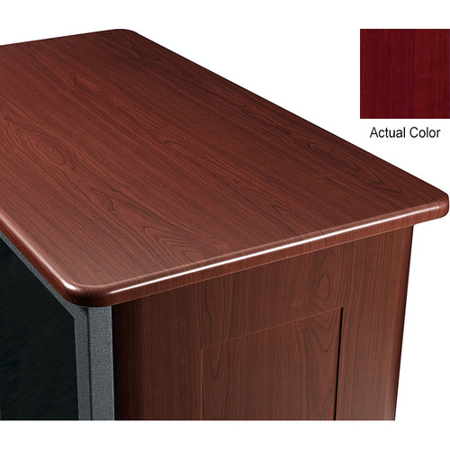 "Middle Atlantic Wood Top and 2 Side Panels Kit for Slim 5-Series Equipment Rack (21 RU, 26"" Deep, Napa)"