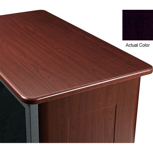 "Middle Atlantic Wood Top and 2 Side Panels Kit for Slim 5-Series Equipment Rack (21 RU, 26"" Deep, Nighttide)"