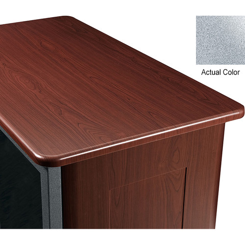 "Middle Atlantic Wood Top and 2 Side Panels Kit for Slim 5-Series Equipment Rack (21 RU, 26"" Deep, Pepperstone)"