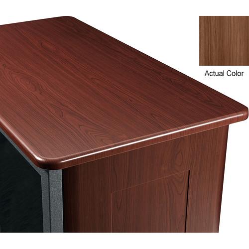 """Middle Atlantic Wood Top and 2 Side Panels Kit for Slim 5-Series Equipment Rack (21 RU, 26"""" Deep, Sienna)"""