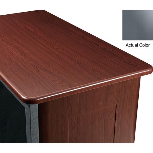 "Middle Atlantic Wood Top and 2 Side Panels Kit for Slim 5-Series Equipment Rack (21 RU, 26"" Deep, Shark Gray)"