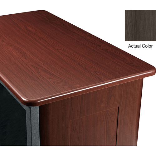 "Middle Atlantic Wood Top and 2 Side Panels Kit for Slim 5-Series Equipment Rack (21 RU, 26"" Deep, Timberwolf)"