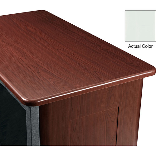 "Middle Atlantic Wood Top and Two Side Panels Kit for Slim 5-Series Equipment Rack (37 RU, 26"" Deep, Gray Ash)"