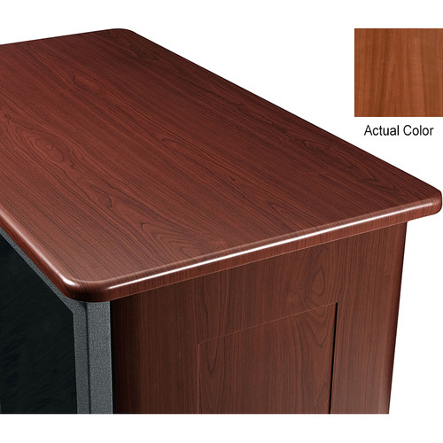 "Middle Atlantic Wood Top and 2 Side Panels Kit for Slim 5-Series Equipment Rack (37 RU, 20"" Deep, Sequoia)"