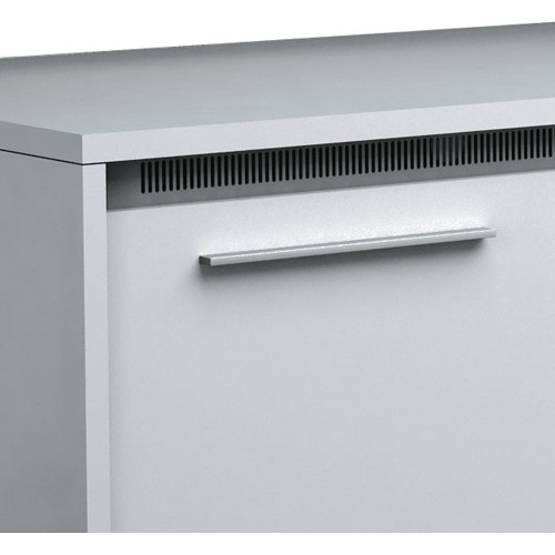 Middle Atlantic Handle Accessory for the C5 Series Credenza (Modern Aluminum)