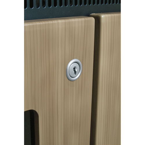 Middle Atlantic Lock Accessory for the C5 Series Credenza (Modern Aluminum)