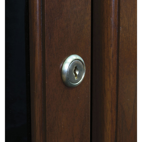 Middle Atlantic Lock Accessory for the C5 Series Credenza (Satin Nickel)