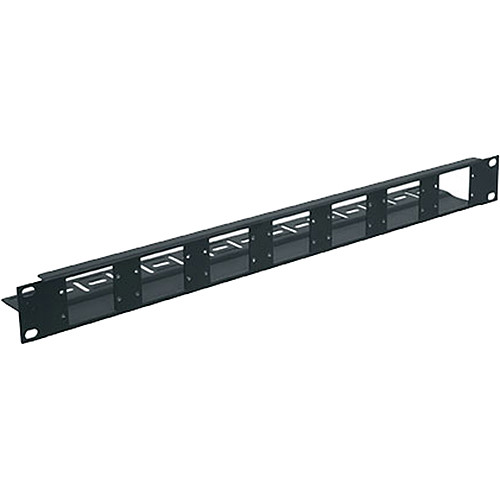 Middle Atlantic AVIP-FK1 1-Space Fixed Panel for AVIP Device Plates (Black)
