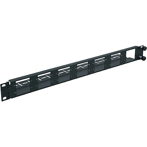 Middle Atlantic AVIP-SF1 1-Space Swing-Out Panel for AVIP Device Plates (Black)