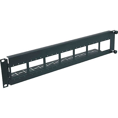 Middle Atlantic AVIP-SF2 2-Space Swing-Out Panel for AVIP Device Plates (Black)
