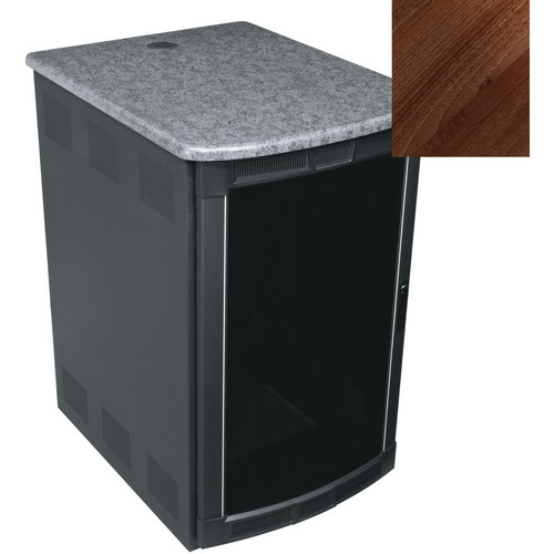 Middle Atlantic BGR-25SA32MDK Presentation Enclosure System (Dark Pecan)