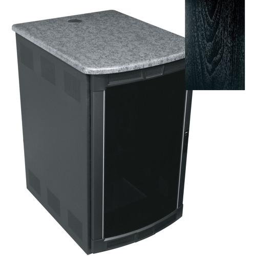 Middle Atlantic BGR-25SA32MDK Presentation Enclosure System (Ebony Ash)