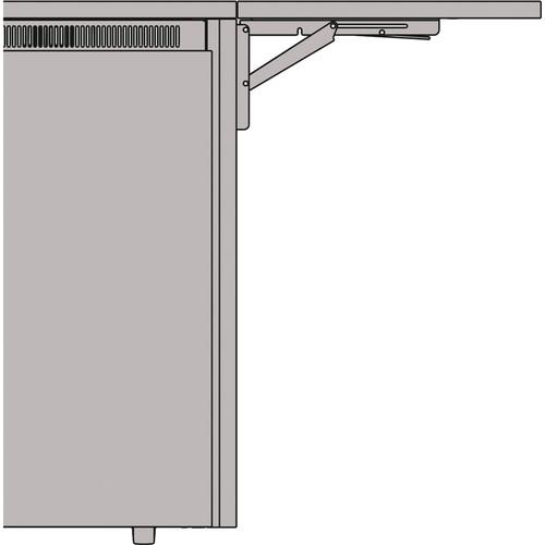 "Middle Atlantic 27"" Flip Up Side Shelf for C5 Series Credenza Racks (Klasik Thermolaminate)"