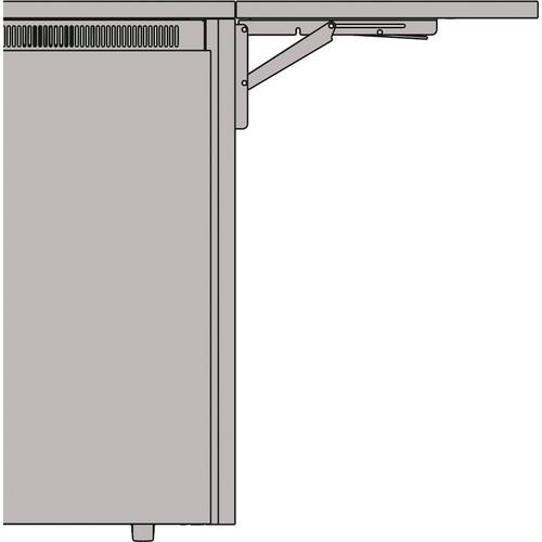 "Middle Atlantic 27"" Flip Up Side Shelf for C5 Series Credenza Racks (Klasik Veneer)"