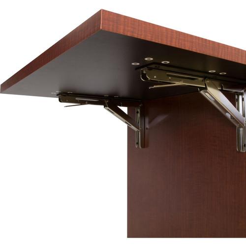 "Middle Atlantic C5 Flipshelf For 31"" Deep Moderno Style Wood Kit In Veneer Finish (Noire Sapele)"""