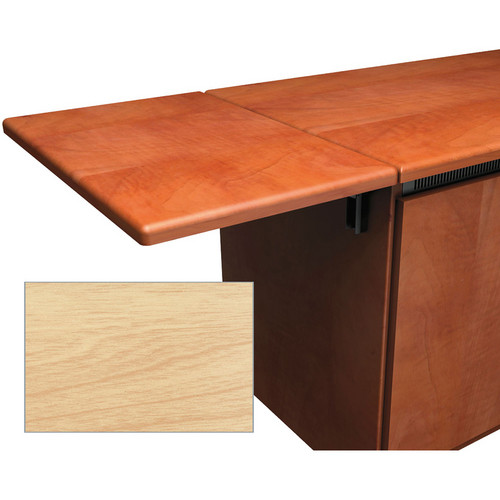 Middle Atlantic Contemporary-Style Flip-Up Side Shelf for Credenza Rack (Maple)