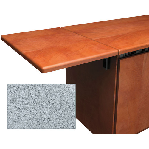 Middle Atlantic Contemporary-Style Flip-Up Side Shelf for Credenza Rack (Pepperstone)