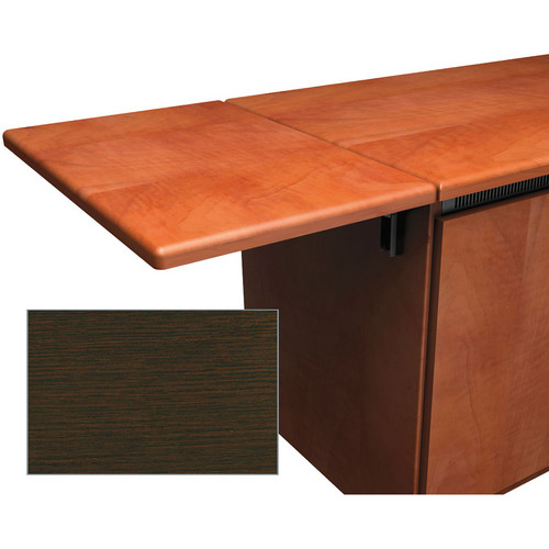 Middle Atlantic Contemporary-Style Flip-Up Side Shelf for Credenza Rack (Wenge)