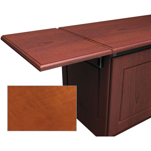 Middle Atlantic Traditional-Style Flip-Up Side Shelf for Credenza Rack (Aged Cherry)