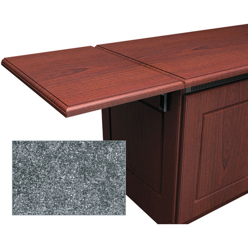 Middle Atlantic Traditional-Style Flip-Up Side Shelf for Credenza Rack (Greystone)