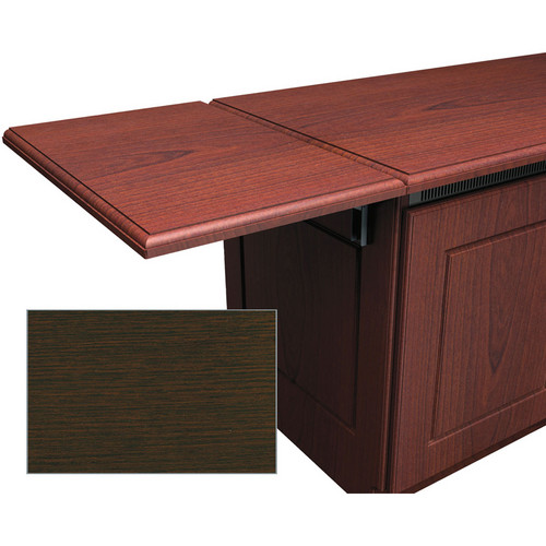 Middle Atlantic Traditional-Style Flip-Up Side Shelf for Credenza Rack (Wenge)