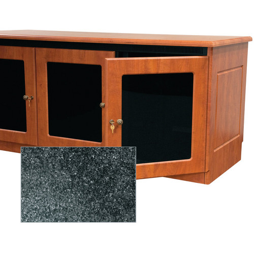 Middle Atlantic Contemporary-Style Finishing Kit for 1-Bay Credenza Rack (Darkstone)