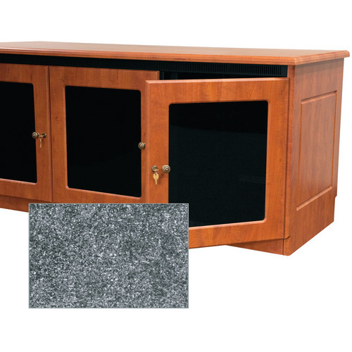Middle Atlantic Contemporary-Style Finishing Kit for 1-Bay Credenza Rack (Greystone)