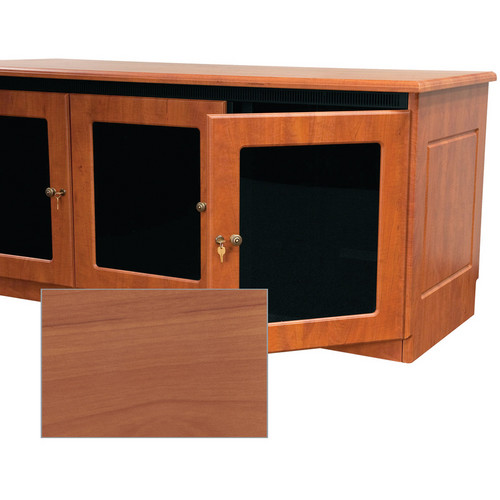Middle Atlantic Contemporary-Style Finishing Kit for 1-Bay Credenza Rack (Honey Maple)