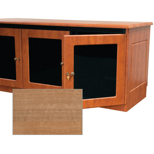 Middle Atlantic Contemporary-Style Finishing Kit for 1-Bay Credenza Rack (Light Walnut)
