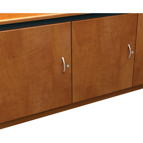Middle Atlantic Contemporary-Style Finishing Kit for 1-Bay Credenza Rack (Aged Cherry)