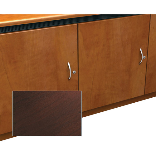 Middle Atlantic Contemporary-Style Finishing Kit for 1-Bay Credenza Rack (Dark Cherry)