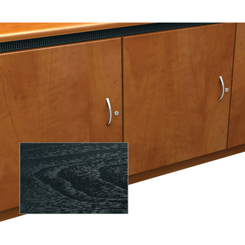 Middle Atlantic Contemporary-Style Finishing Kit for 1-Bay Credenza Rack (Ebony Ash)