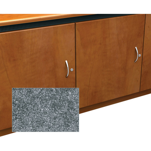 Middle Atlantic Contemporary-Style Finishing Kit for 1-Bay Credenza Rack (Graystone)